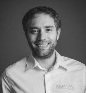 David Vandenberghe, le fondateur du compteur d'activité Kemtag